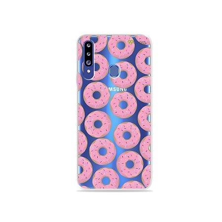 Capa para Galaxy A20s - Donuts