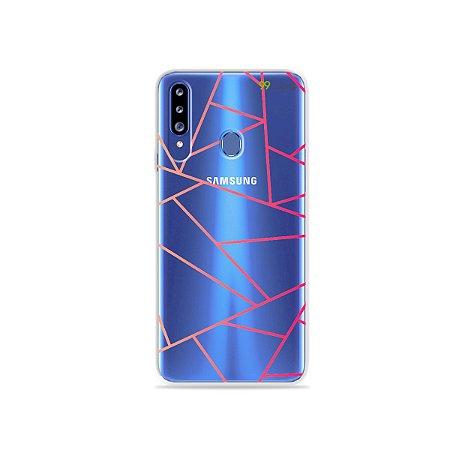 Capa para Galaxy A20s - Abstrata