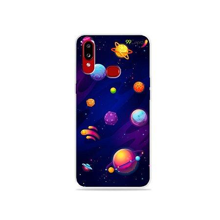Capa para Galaxy A10s - Galáxia