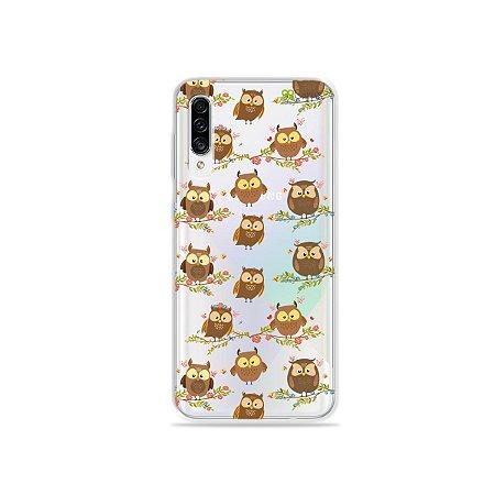 Capa para Galaxy A30s - Corujinhas