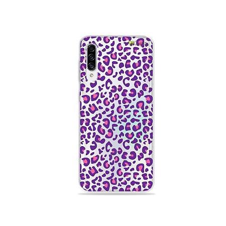 Capa para Galaxy A30s - Animal Print Purple