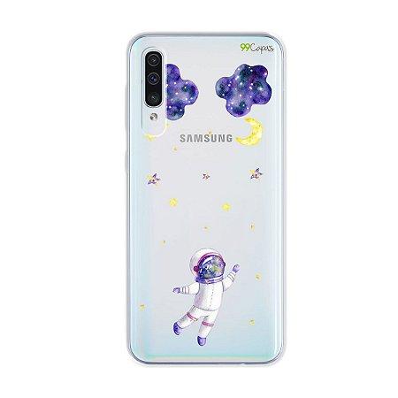 Capa para Galaxy A50s - Astronauta Sonhador