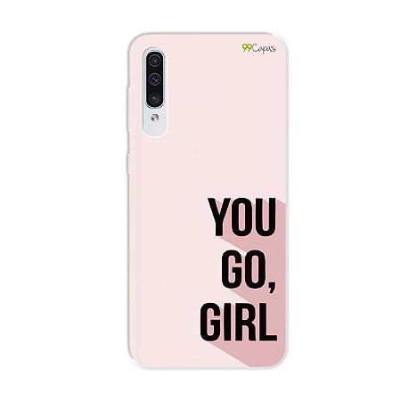 Capa para Galaxy A50s - You Go, Girl