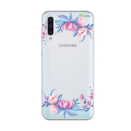 Capa para Galaxy A50s - Bromélias
