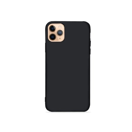 Silicone Case preta para iPhone 11 Pro Max (acompanha Pop Socket) - 99Capas