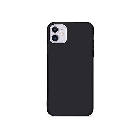 Silicone Case Preta para Iphone 11 (acompanha Pop Socket) - 99Capas