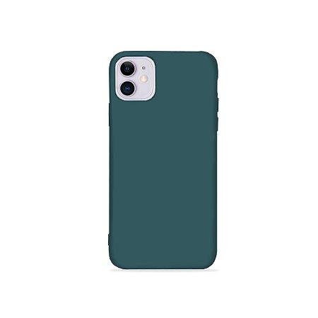 Silicone Case Verde Cacto para iPhone 11 (acompanha Pop Socket) - 99Capas