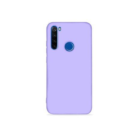 Silicone Case Lilás para Redmi Note 8 (acompanha Pop Socket) - 99Capas