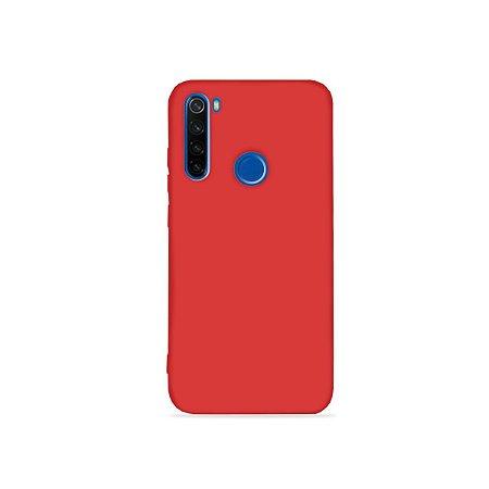 Silicone Case Vermelha para Redmi Note 8 (acompanha Pop Socket) - 99Capas