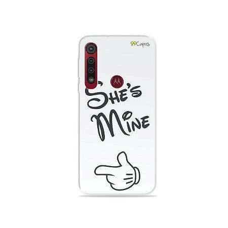 Capa para Moto G8 Play - She's mine