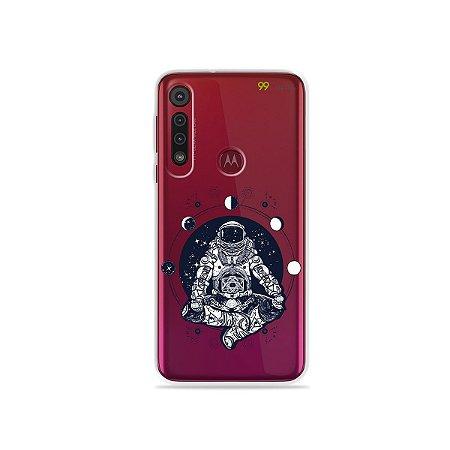 Capa para Moto G8 Play - Astronauta