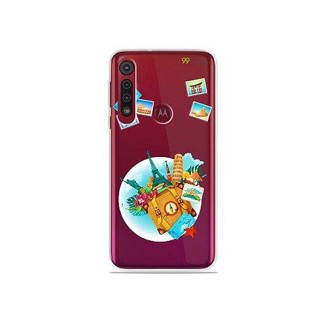 Capa para Moto G8 Play - Memórias