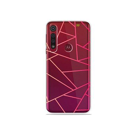 Capa para Moto G8 Play - Abstrata