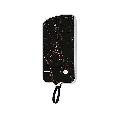 99Snap Powerbank - Lightning ( Carregador portátil para celular) Marble Black