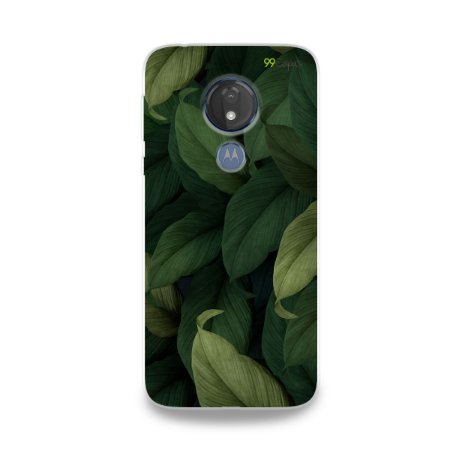 Capinha para Moto G7 Power - Folhas