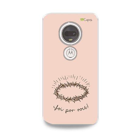 Capinha para Moto G7 Plus - Foi por você