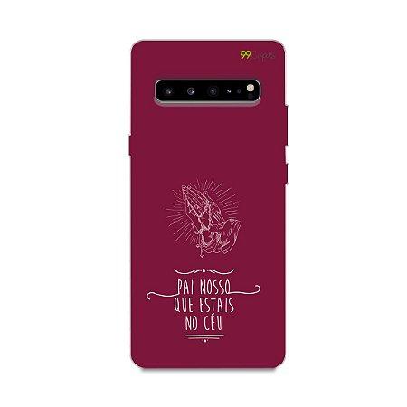Capinha para Galaxy S10 - Pai Nosso