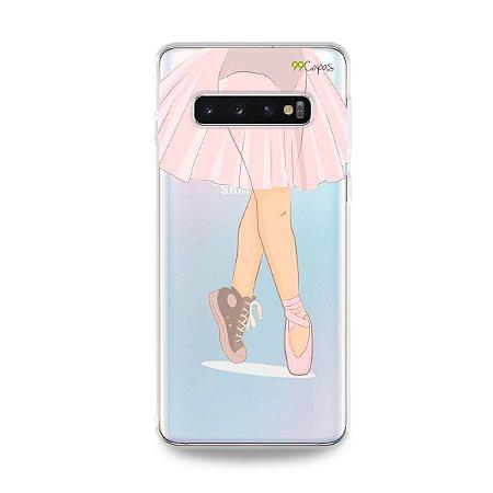 Capinha (transparente) para Galaxy S10 Plus - Ballet