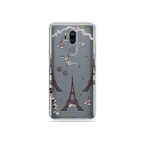 Capinha (transparente) para LG G7 ThinQ - Paris