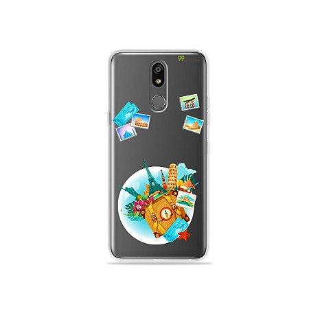 Capinha (transparente) para LG K12 Plus - Memórias