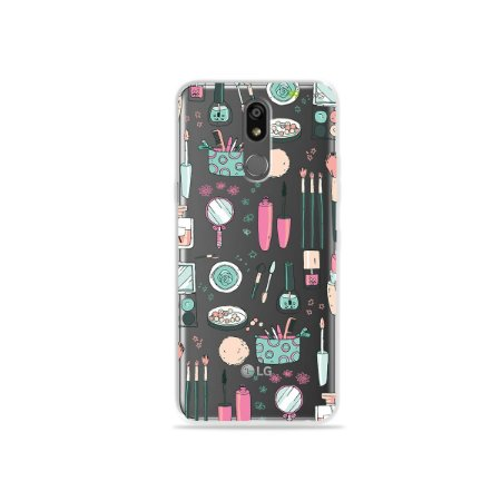 Capinha (transparente) para LG K12 Plus - Make Up