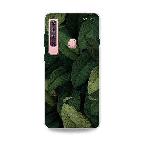 Capinha para Galaxy A9 2018 - Folhas