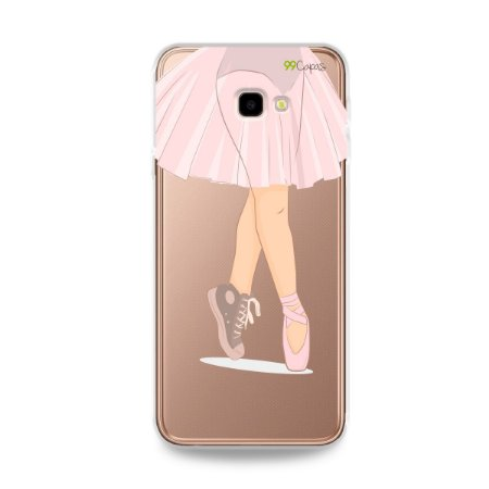 Capinha (transparente) para Galaxy J4 Plus - Ballet