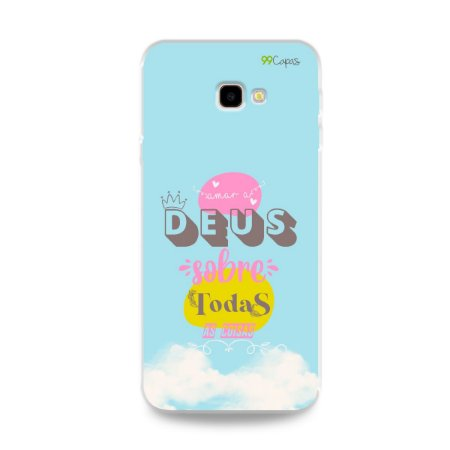 Capinha para Galaxy J4 Plus - Amar a Deus
