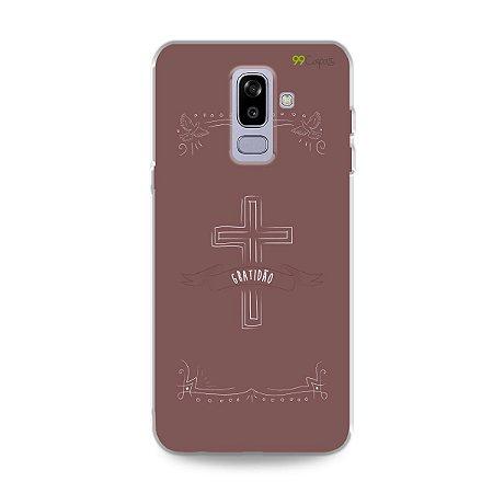 Capinha para Galaxy J8 - Gratidão