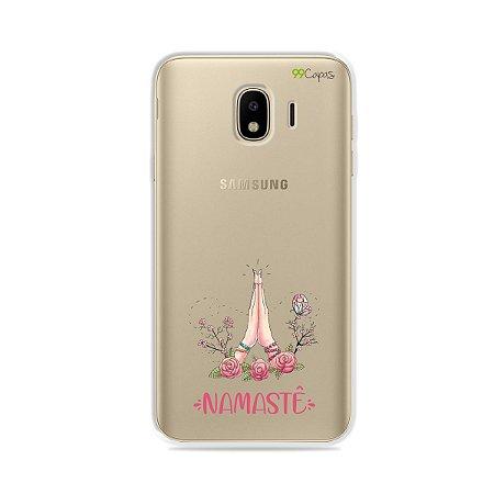 Capinha (transparente) para Galaxy J4 2018 - Namastê