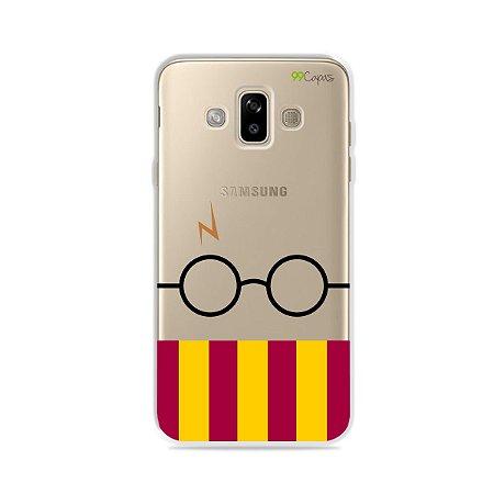 Capinha (transparente) para Galaxy J7 Duo - H.P.