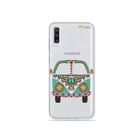 Capinha (transparente) para Galaxy A70s - Kombi