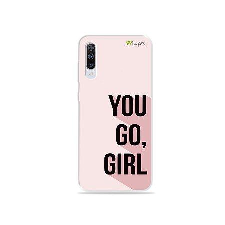 Capinha para Galaxy A70s - You Go, Girl