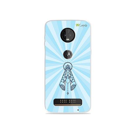 Capinha para Moto Z3 Play - Nossa Senhora