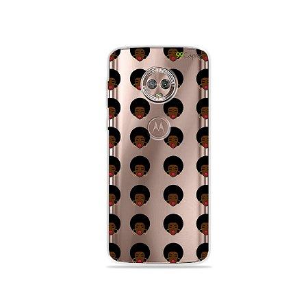Capa para Moto G6 Plus - Black Girl