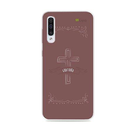 Capinha para Galaxy A50 - Gratidão
