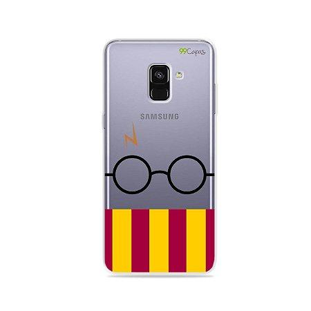 Capinha (transparente) para Galaxy A8 Plus - H.P.