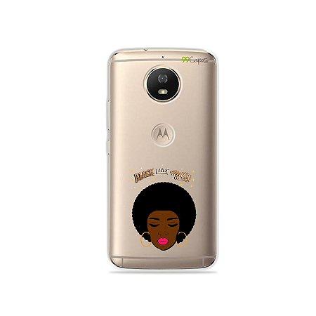 Capinha para Moto G5s - Black Lives