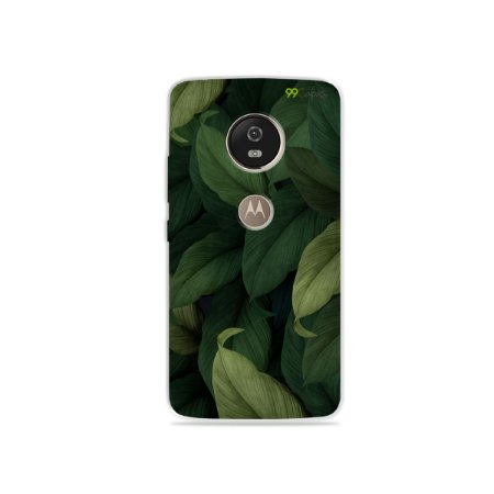 Capa para Moto G5 - Folhas