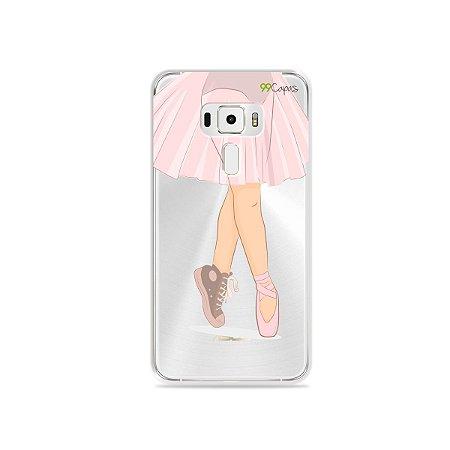 Capinha (transparente) para Asus Zenfone 3 - 5.5 Polegadas - Ballet