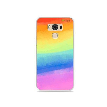 Capinha para Asus Zenfone 3 Max- 5.5 Polegadas - Rainbow
