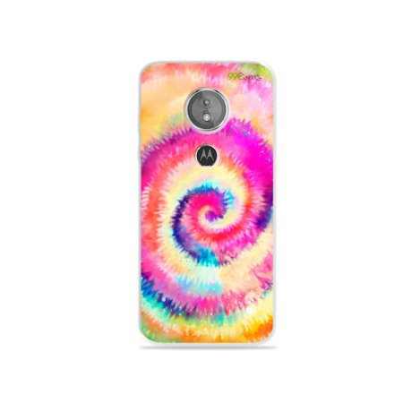 Capa para Moto E5 - Tie Dye