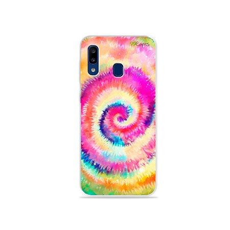 Capinha para Galaxy A20 - Tie Dye
