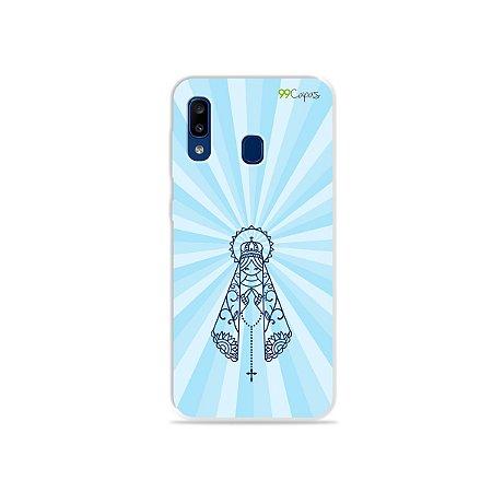 Capinha para Galaxy A20 - Nossa Senhora