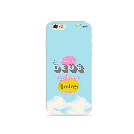 Capinha para iPhone 6/6S - Amar a Deus