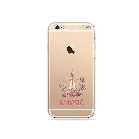 Capinha (transparente) para iPhone 6/6S - Namastê