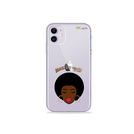 Capinha (transparente) para iPhone 11 - Black Lives