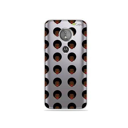 Capa para Moto E5 - Black Girls