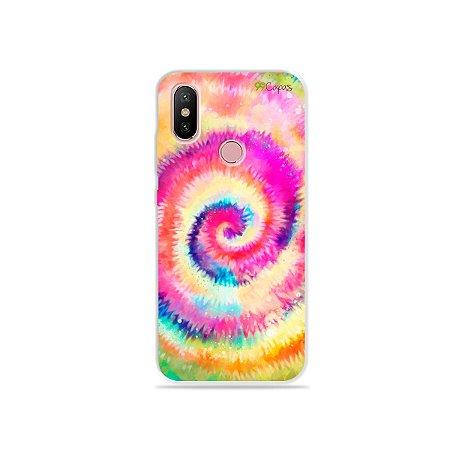 Capinha para Xiaomi Mi A2 - Tie Dye