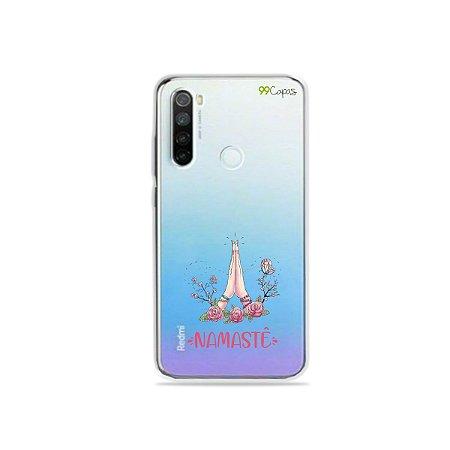 Capinha (transparente) para Xiaomi Redmi Note 8 - Namastê